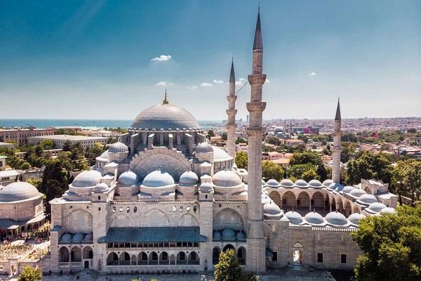 Süleymaniye, msikiti wa miaka 463 wa Istanbul + Picha